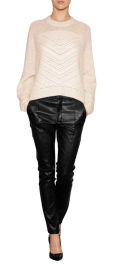HELMUT LANG - Boxy Mohair Pullover