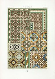 Racinet Ornamental Prints 1889