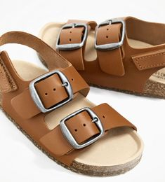 Baby Schuhe Kinder Schuhe Jungs Schuhe blau aufdruck Soccer  0-3 Monate
