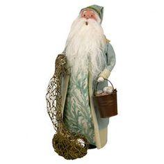 Nautical Santa Figurine
