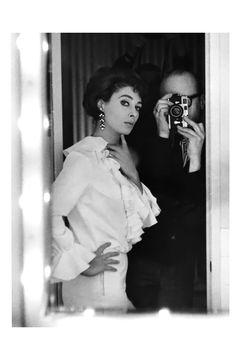 Photographer Peter Basch and Rita Gam