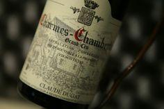 Charmes-Chambertin Grand Cru. Claude Dugat. Vin rouge de Bourgogne #charmeschambertin #grandcru #wine #winelover