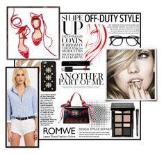 """""""Contest"""" by valen7ina3 ❤ liked on Polyvore featuring Gucci, Urban Decay, Bobbi Brown Cosmetics, MICHAEL Michael Kors and Christian Dior"""
