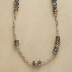 Long Labradorite Necklace                                              | Robert Redford's Sundance Catalog