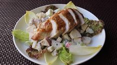 """Chef John's """"pan-roasted"""" chicken breasts are fast, easy, and delicious. Leaving the skin on adds a lot of flavor and keeps the chicken juicy. Turkey Recipes, Chicken Recipes, How To Make Barbecue, Roasted Chicken Breast, Grilled Chicken, Barbecue Chicken, Bbq, Breast Recipe, Chicken Seasoning"""