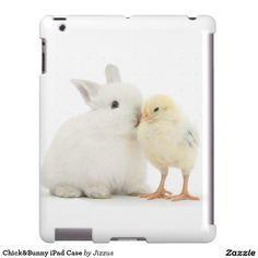 Chick&Bunny iPad Case
