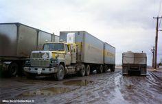 Big Rig Trucks, Gmc Trucks, Cool Trucks, Truck Transport, Road Train, Vintage Trucks, Classic Trucks, Old School, Chevrolet