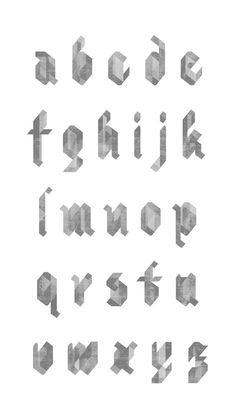 Northerly by Justin Ward - #typography #type