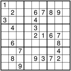 Try this fun Sudoku Game! http://www.crosswordpuzzles.net/sudoku-puzzle