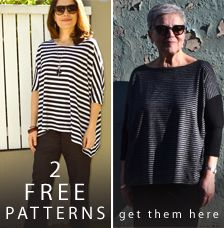 Free Sewing Pattern - Mandy Boat Tee - Print At Home Or Copy Shop - Patterns - Tessuti Fabrics - Online Fabric Store - Cotton, Linen, Silk, Bridal & more