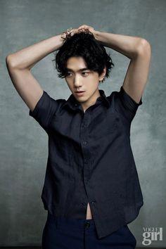 Bang Sung Joon Vogue Girl Magazine April 2014