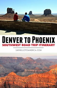 Recap of a 10-day American Southwest road trip from Denver, Colorado to Phoenix, Arizona. Click to read the itinerary or pin for later!