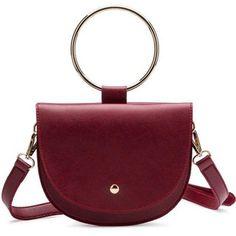 iBESTEST Womens Bracelet Handbag Bracelet Accent Handle Metal Handle Cross Body Bag