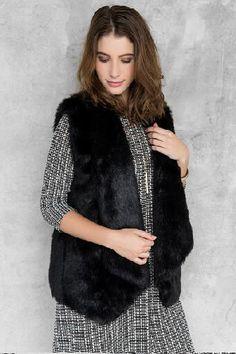 Lufkin Faux Fur Vest