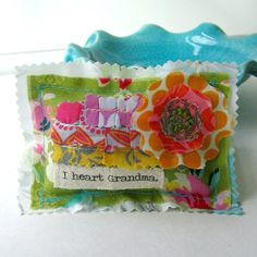 Grandma Lavender Sachet Pillow Mother's Day от tracyBdesigns
