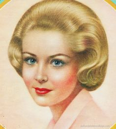 Vintage Breck shampoo Ad The Breck Girl 1962  They had a new one every ad campaign, you wanted to just like her using Breck