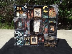 Steampunk Spells Halloween Printers Tray - Scrapbook.com