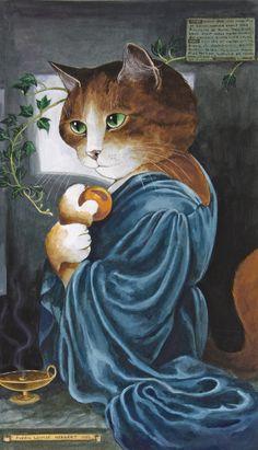 Proserpine (Dante Gabriel Rossetti) by Susan Herbert