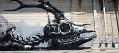 Powerful Street Art by ROA Raises Awareness Of Environmental Issues | DeMilked