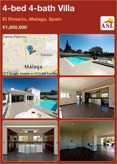 4-bed 4-bath Villa in El Rosario, Malaga, Spain ►€1,850,000 #PropertyForSaleInSpain