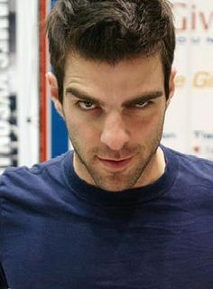 Zachary Quinto as Sylar in Heroes.