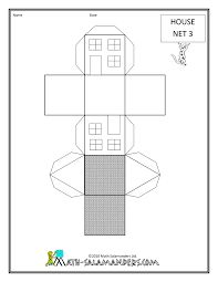Cuboid 2, a printable net for a cuboid available with or