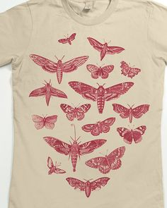 Moth Shirt Womens B