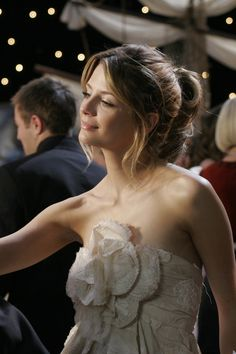 Chanel??? To the prom? Marissa Cooper, you beautiful, mad genius. (Plus the fact…