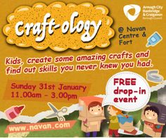 Free drop-in event, part of The Navan Fort's  'Ology' series of events. Find out how to make creative & useful objects from things you would normally throw out.