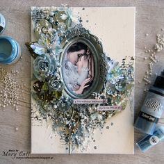 Mary's Crafty Moments: ''Memories'' - DT Layout for More Than Words Chall...