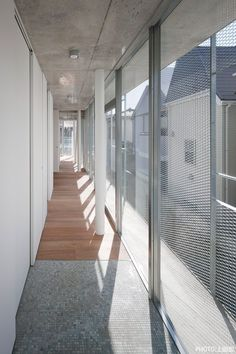 a f a s i a: Mitsuhiko Sato House Cladding, Design Studio Office, Metal Facade, Expanded Metal, Clinic Design, House Extensions, Facade Design, Facade Architecture, Windows And Doors