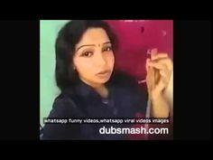 Whatsapp funny videos 2016   Cute girl tamil dubsmash videos new @whatsa...