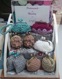 Portamonete e minibag. Uncinetto. Crochet.