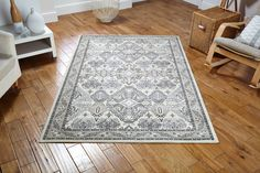 True Masterpiece_ Richmond 70W Classic Traditional Rug with a beauty to adorn...! #flatweaverugs #traditionalrugs #modernrugs #largerugs