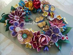 cheerful wreath  Quilling art Quilling by bmileticquilling on Etsy