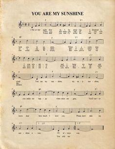 Sheet Music Crafts, Easy Piano Sheet Music, Music Sheets, Vintage Sheet Music, Sheet Music Decor, Free Piano Sheets, Clarinet Sheet Music, Violin Music, Free Flute Sheet Music