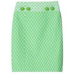 Milly mint green skirt.