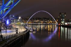 Modern Architecture, Low Light, Photography, Newcastle