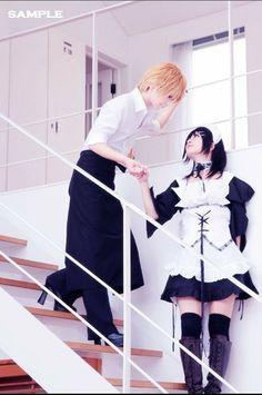 Usui Takumi and Misaki Ayuzawa cosplay . My rating : 9/10