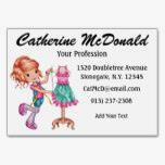 Shop The Cute Seamstress Version 2 - SRF Business Card created by sharonrhea. Fashion Business Cards, Grand Format, Things To Come, Ads, Cute, Prints, Pulp Paper, Carte De Visite, Kawaii