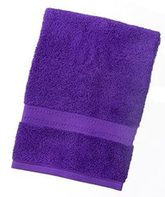 From 5.77 Towelsrus Egyptian 100% Super Soft Cotton 550 Gsm Hand Towel In Purple