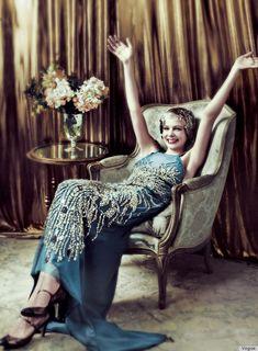 Carey Mulligan in Vogue