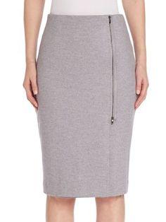 MAX MARA Wool Knee-Length Skirt. #maxmara #cloth #skirt