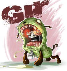 GIR | Invader zim, Invader zim characters, Girly