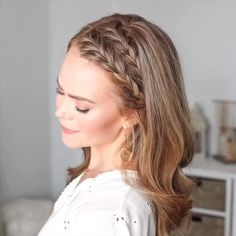 Braided Hairstyles Video hair tutorial video Hair may result in concern or dislike for a Side Braid Hairstyles, Easy Hairstyles For Long Hair, Braids For Short Hair, Cool Hairstyles, Halloween Hairstyles, Workout Hairstyles, Simple Everyday Hairstyles, Hairstyles For Nurses, Hairstyle For Women