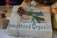 Chic Country Christmas Wrapping!Brown Paper Packages Tied up with String | The Art of Doing Stuff