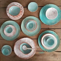 Handmade ceramic dinnerware Regrann from Ceramic Plates, Ceramic Pottery, Ceramic Painting, Ceramic Art, Paperclay, Handmade Pottery, Handmade Ceramic, Plates And Bowls, Clay Crafts