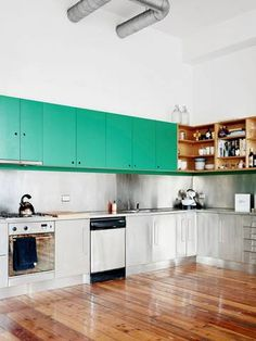 it s in the mix kitchens with different cabinet types editor s rh pinterest com