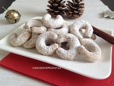 Czech Recipes, Christmas Cookies, Sweet Recipes, Baked Goods, Cereal, Food And Drink, Cheesecake, Cupcakes, Baking