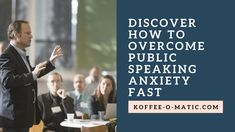 Do you need to overcome public speaking anxiety? You are not alone. Most people are deathly afraid of speaking in public. The anxiety can range from a slight feeling of being nervous to an immobili...